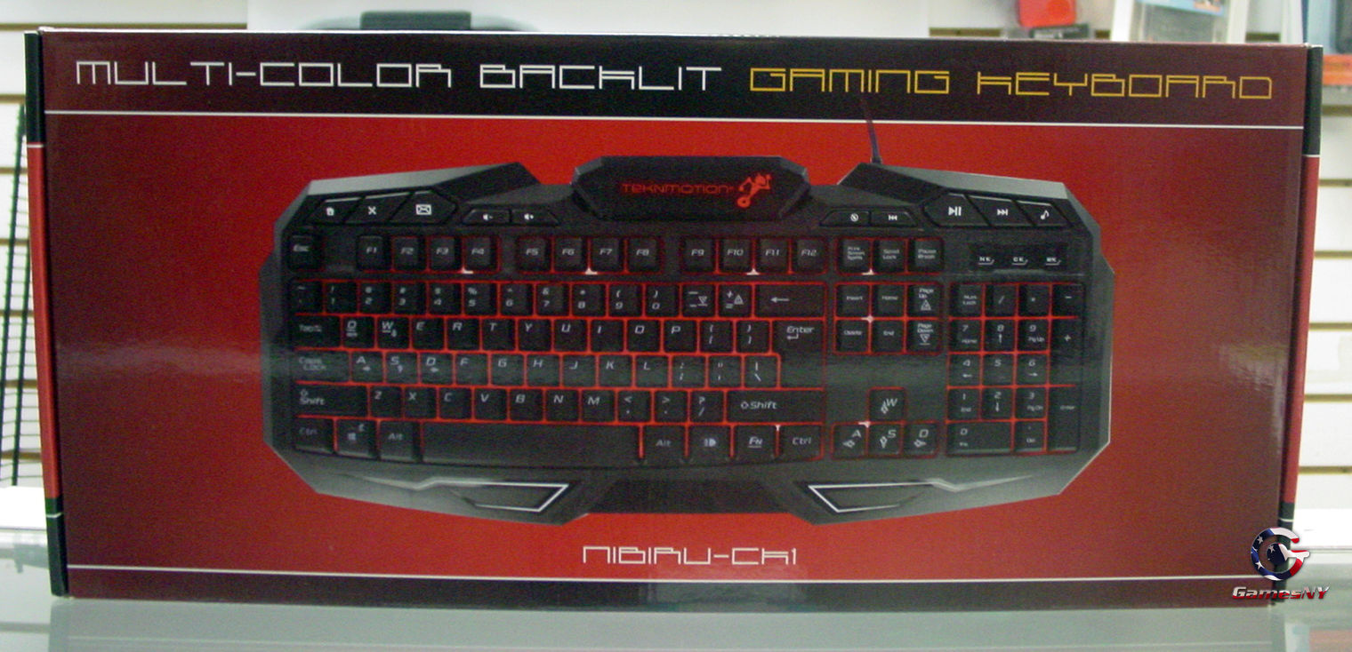 TekNmotion Nibiru CK-1 Multi-Color Backlit Gaming Keyboard