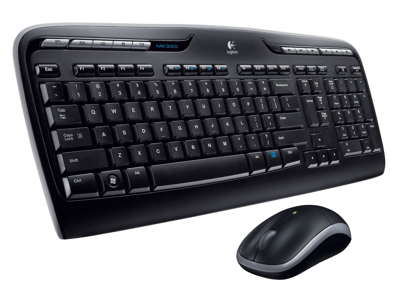 Kết quả hình ảnh cho Logitech MK320 wireless keyboard & mouse